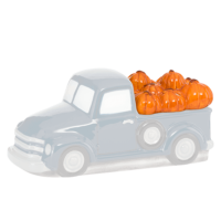 PUMPKIN DELIVERY TRUCK SCENTSY WARMER - LID ONLY
