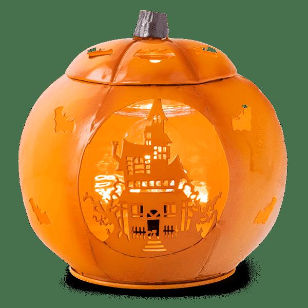 Paranormal Pumpkin Scentsy Warmer 5
