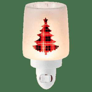 Pine for Plaid Mini Scentsy Warmer 4