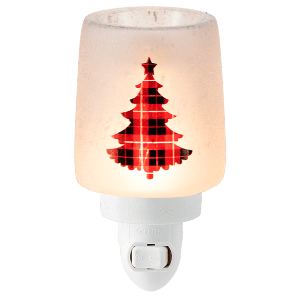 Pine for Plaid Mini Scentsy Warmer 4 | Pine for Plaid Mini Scentsy Warmer | Incandescent.Scentsy.us