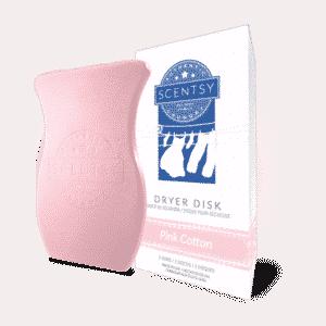 Pink Cotton Scentsy Dryer Disks