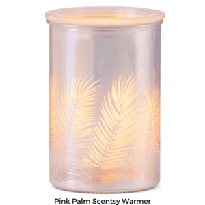 NEW! Pink Palm Scentsy Warmer | Summer 2021 | Incandescent.Scentsy.us