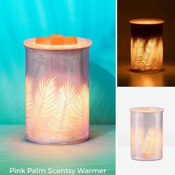 Pink Palm Scentsy Warmer | Pink Palm Scentsy Warmer | Summer 2021