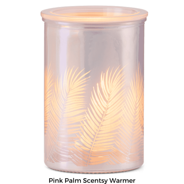 Pink Palm Scentsy Warmer