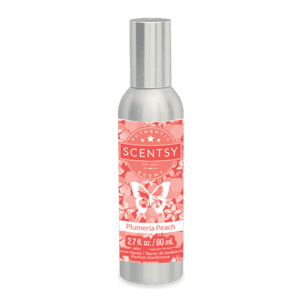 Plumeria Peach Scentsy Room Spray
