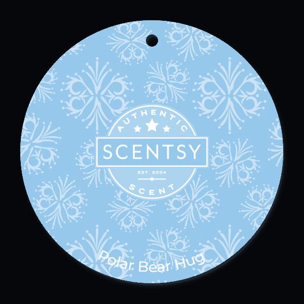 Polar Bear Hug Scentsy Scent Circle | Polar Bear Hug Scentsy Scent Circle | Incandescent.Scentsy.us