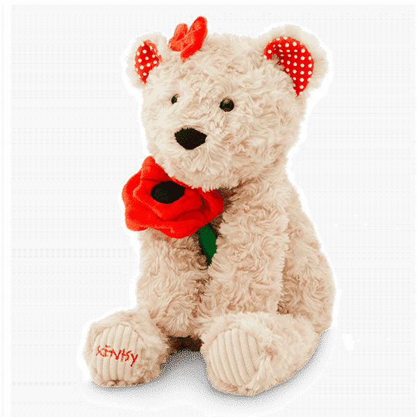 Poppy the Bear Scentsy Buddy side