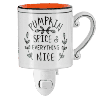 Pumpkin Spice Everything Nice Mini Scentsy Warmer 1
