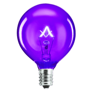Purple Scentsy Bulb