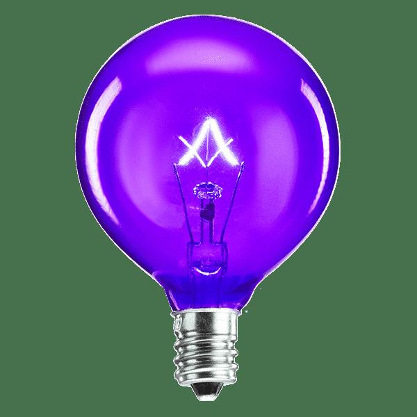 Purple Scentsy Bulb | 20 Watt Purple Scentsy Light Bulb