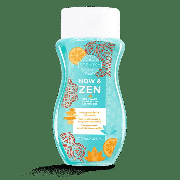 NOW AND ZEN SCENTSY BODY WASH | Now & Zen Scentsy Body Wash | Incandescent.Scentsy.us