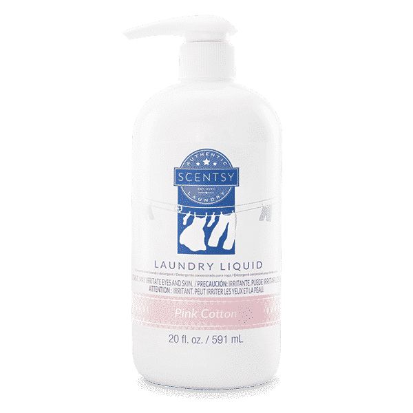 PINK COTTON SCENTSY LAUNDRY LIQUID | NEW! PINK COTTON SCENTSY LAUNDRY LIQUID | Shop Scentsy | Incandescent.Scentsy.us