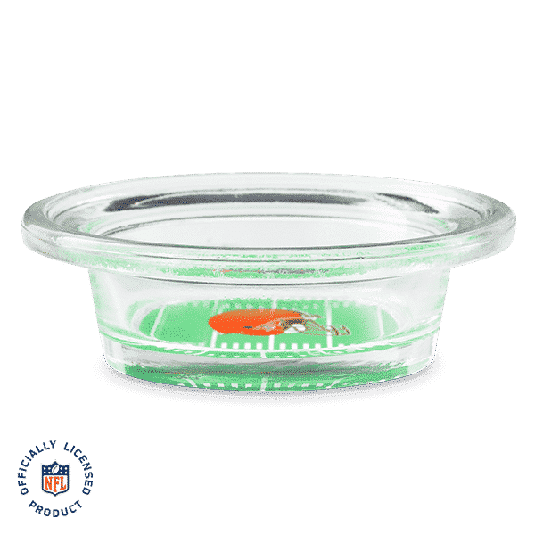 NFL CLEVELAND BROWNS - SCENTSY WARMER DISH ONLY | NFL CLEVELAND BROWNS - SCENTSY WARMER DISH ONLY