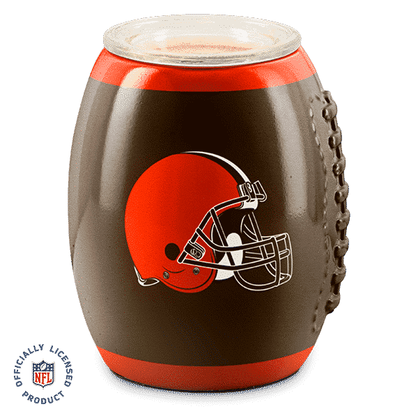 CLEVELAND BROWNS SCENTSY WARMER NFL FOOTBALL