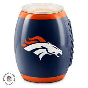 DENVER BRONCOS SCENTSY WARMER NFL FOOTBALL