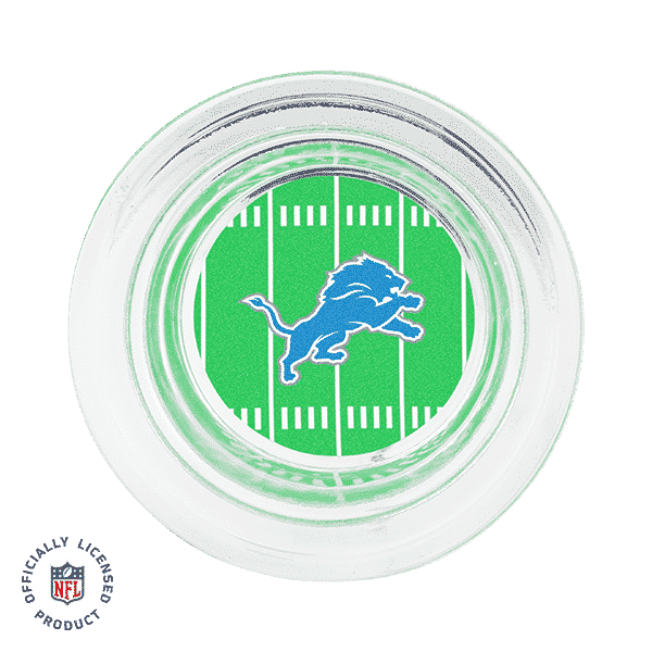 DETROIT LIONS SCENTSY WARMER DISH ONLY