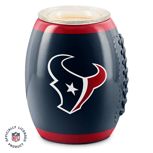HOUSTON TEXANS SCENTSY WARMER NFL FOOTBALL