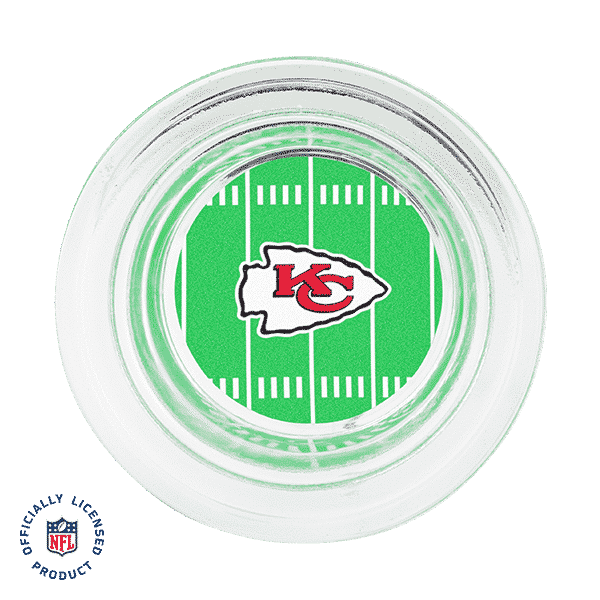 NFL KANSAS CITY CHIEFS - SCENTSY WARMER DISH ONLY