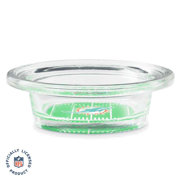 NFL MIAMI DOLPHINS  - SCENTSY WARMER DISH ONLY | NFL MIAMI DOLPHINS - SCENTSY WARMER DISH ONLY