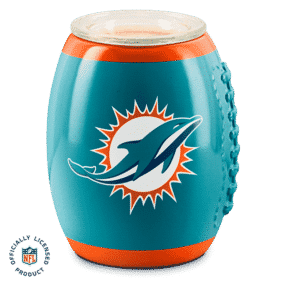 MIAMI DOLPHINS SCENTSY WARMER FOOTBALL NFL