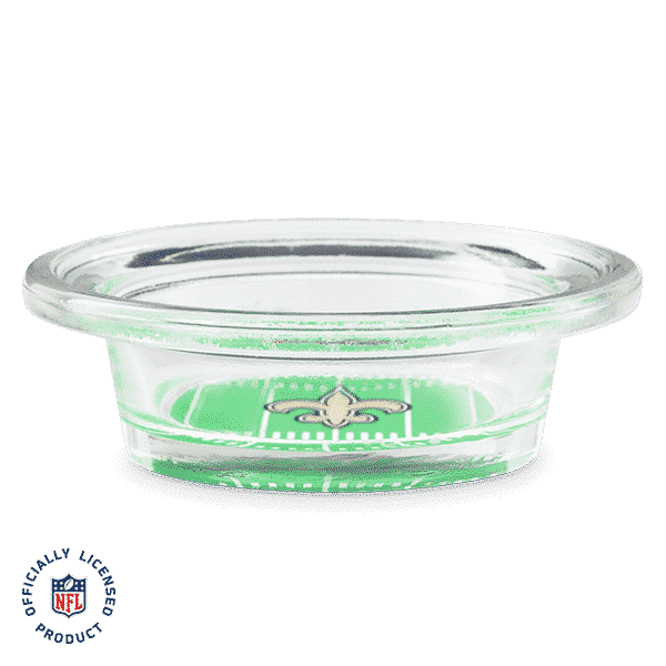 NFL NEW ORLEANS SAINTS - SCENTSY WARMER DISH ONLY