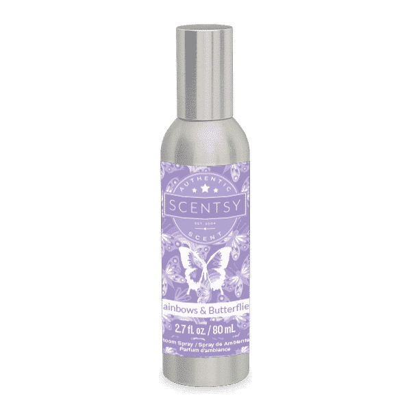 RAINBOWS & BUTTERFLIES SCENTSY ROOM SPRAY