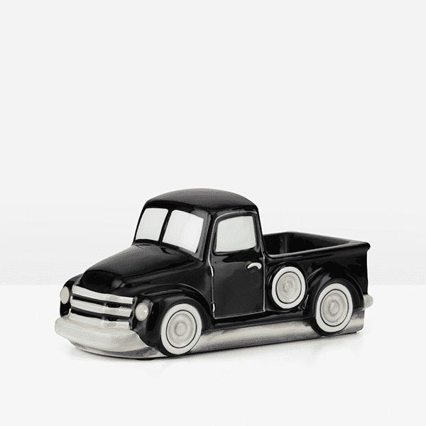 RETRO BLACK TRUCK SCENTSY WARMER SIDE | NEW! Retro Black Truck Scentsy Warmer | Father's Day 2021 | Incandescent.Scentsy.us