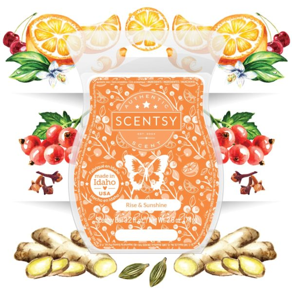 RISE AND SUNSHINE SCENTSY FRAGRANCE