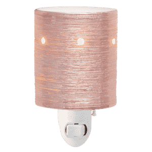NEW! ETCHED CORE ROSE GOLD MINI SCENTSY WARMER | Shop Scentsy | Incandescent.Scentsy.us