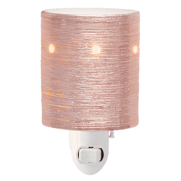 ROSE GOLD ETCHED CORE SCENTSY MINI WARMER