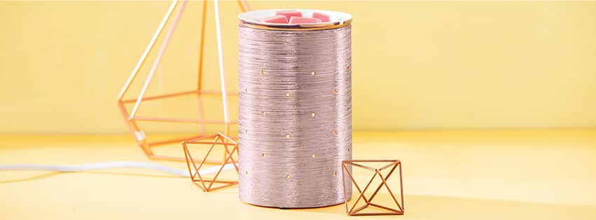 ROSE GOLD ETCHED CORE SCENTSY WARMER BANNER