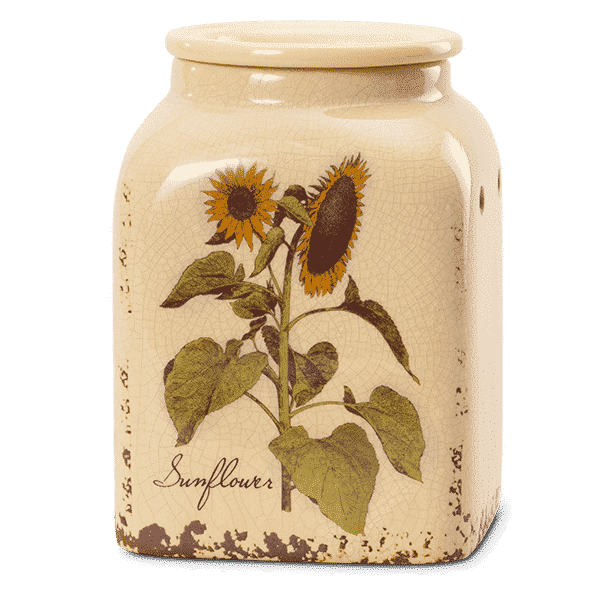 New Rustic Sunflower Scentsy Warmer Scentsy 174 Buy Online