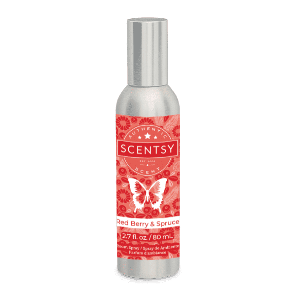 Red Berry Spruce Scentsy Room Spray
