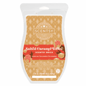 SALTED CARAMEL TOFFEE SCENTSY BRICK