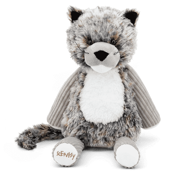 SAMSON THE SNOW LEOPARD BUDDY SCENTSY