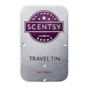 SATIN SHEETS SCENTSY TRAVEL TIN