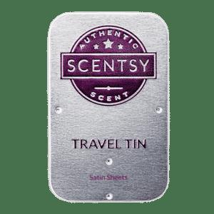 SATIN SHEETS SCENTSY TRAVEL TIN