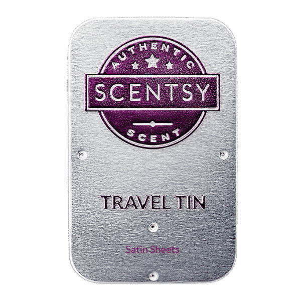 SATIN SHEETS SCENTSY TRAVEL TIN | Shop Scentsy | Incandescent.Scentsy.us