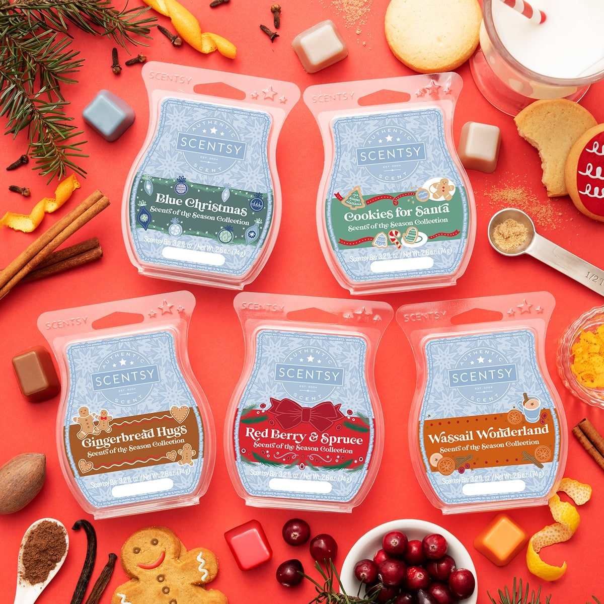 SCENTS OF THE SEASON BUNDLE | NEW! SCENTSY SCENTS OF THE SEASON | HOLIDAY 2020 | SHOP NOW