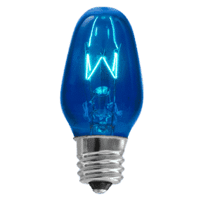 SCENTSY 15W BLUE BULB