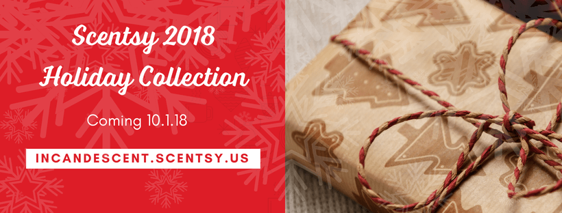 SCENTSY CHRISTMAS & HOLIDAY COLLECTION WARMERS 2018