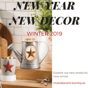 SCENTSY 2019 NEW WARMERS