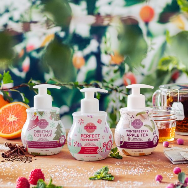 SCENTSY 2020 HOLIDAY HAND SOAPS
