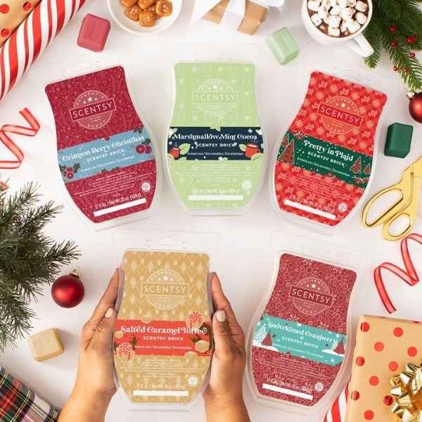 SCENTSY HOLIDAY CHRISTMAS BRICKS | HOLIDAY 2020