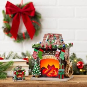 SCENTSY 2020 LIMITED EDITION HOLIDAY HEARTH WARMER 1