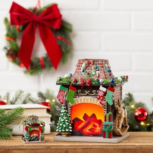 HOLIDAY HEARTH FIREPLACE SCENTSY WARMER  | LIMITED EDITION HOLIDAY | SHOP NOW