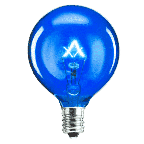SCENTSY 25W BLUE BULB