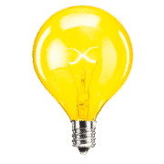 SCENTSY 25W YELLOW LIGHT BULB