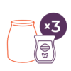 SCENTSY 50 PERFECT SYSTEM | SCENTSY SYSTEM - WARMER & 3 SCENTSY BARS - COMBINE & SAVE | Shop Scentsy | Incandescent.Scentsy.us