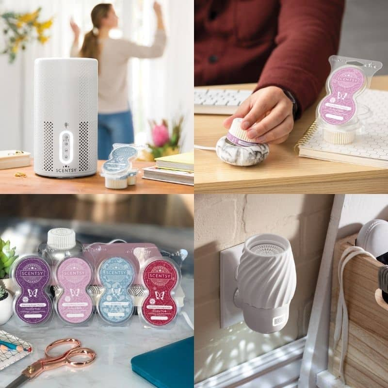 SCENTSY AIR PURIFIER WALL FANS DIFFUSERS AND PODS FALL 2021